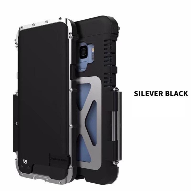 Galaxy S9 タフケース ステンレス