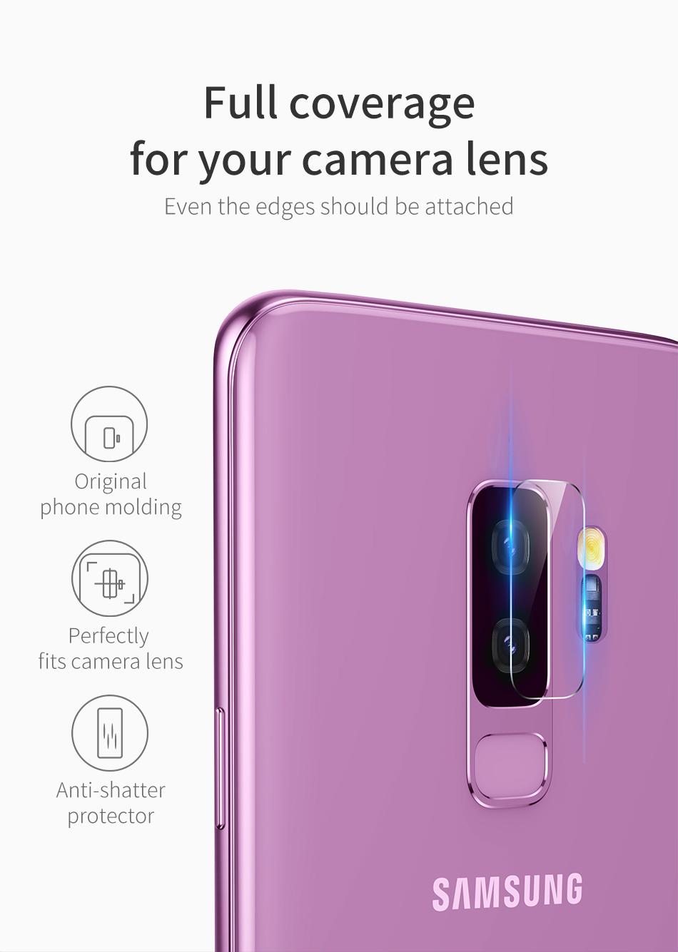 galaxy s9 カメラレンズ 強化ガラス