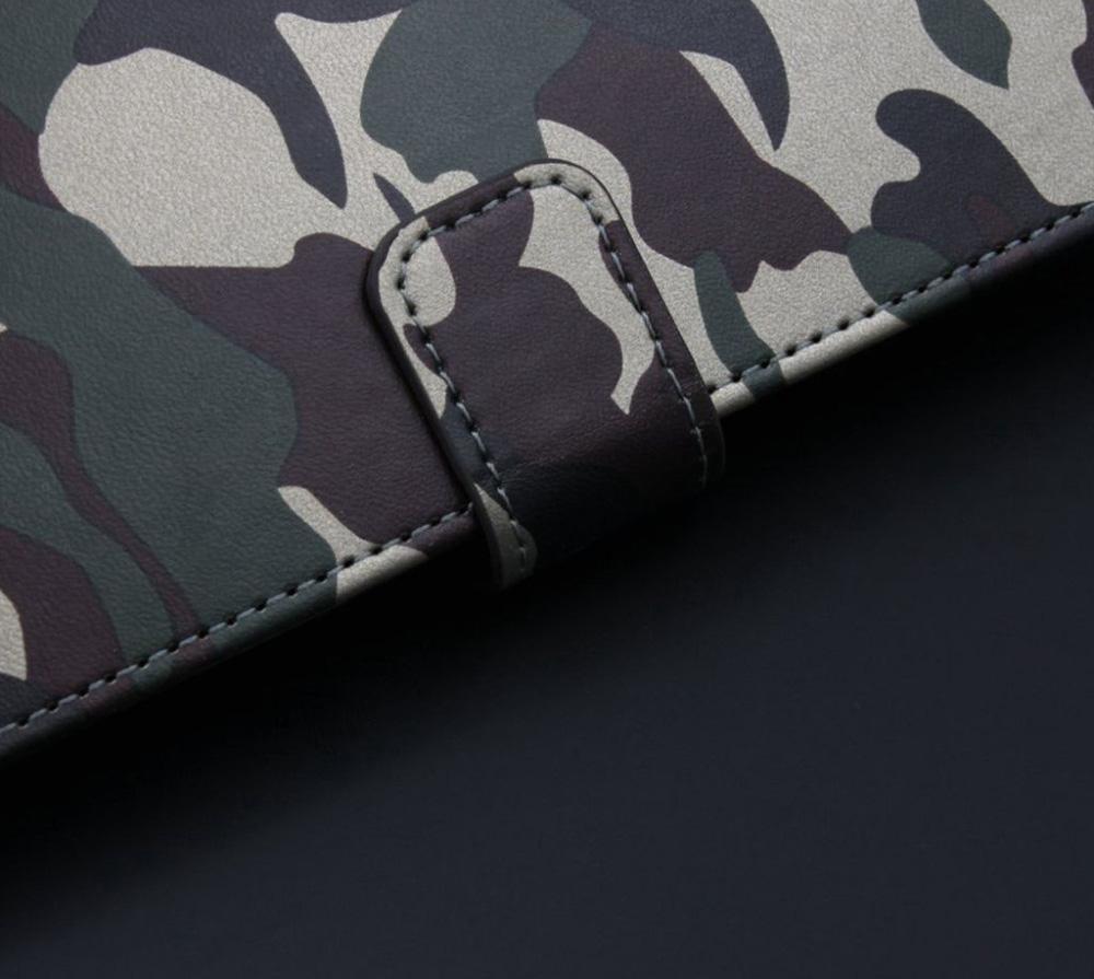 Galaxy S9 ミリタリー 迷彩 手帳型
