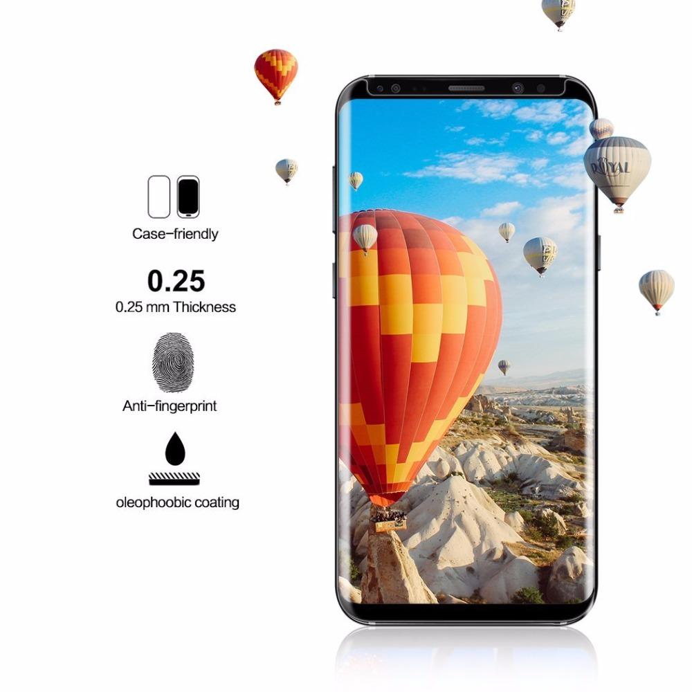 Galaxy S9+ 曲面 ガラスフィルム