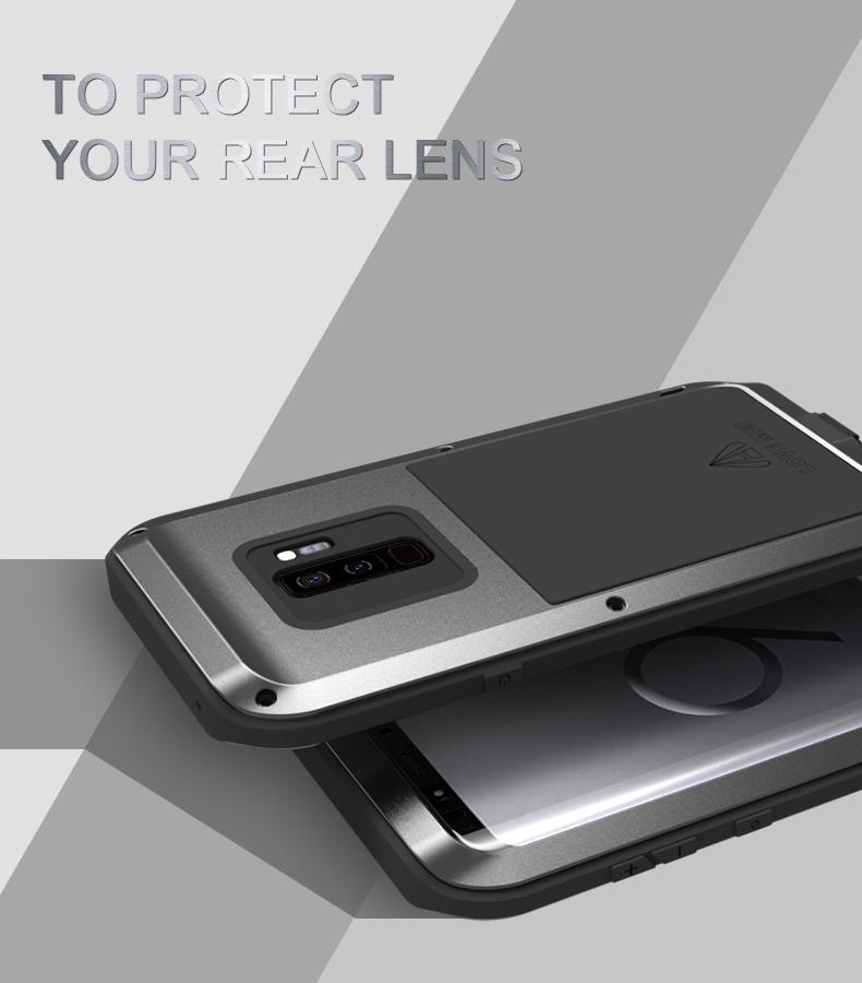 galaxy S9+ タフケース メタル
