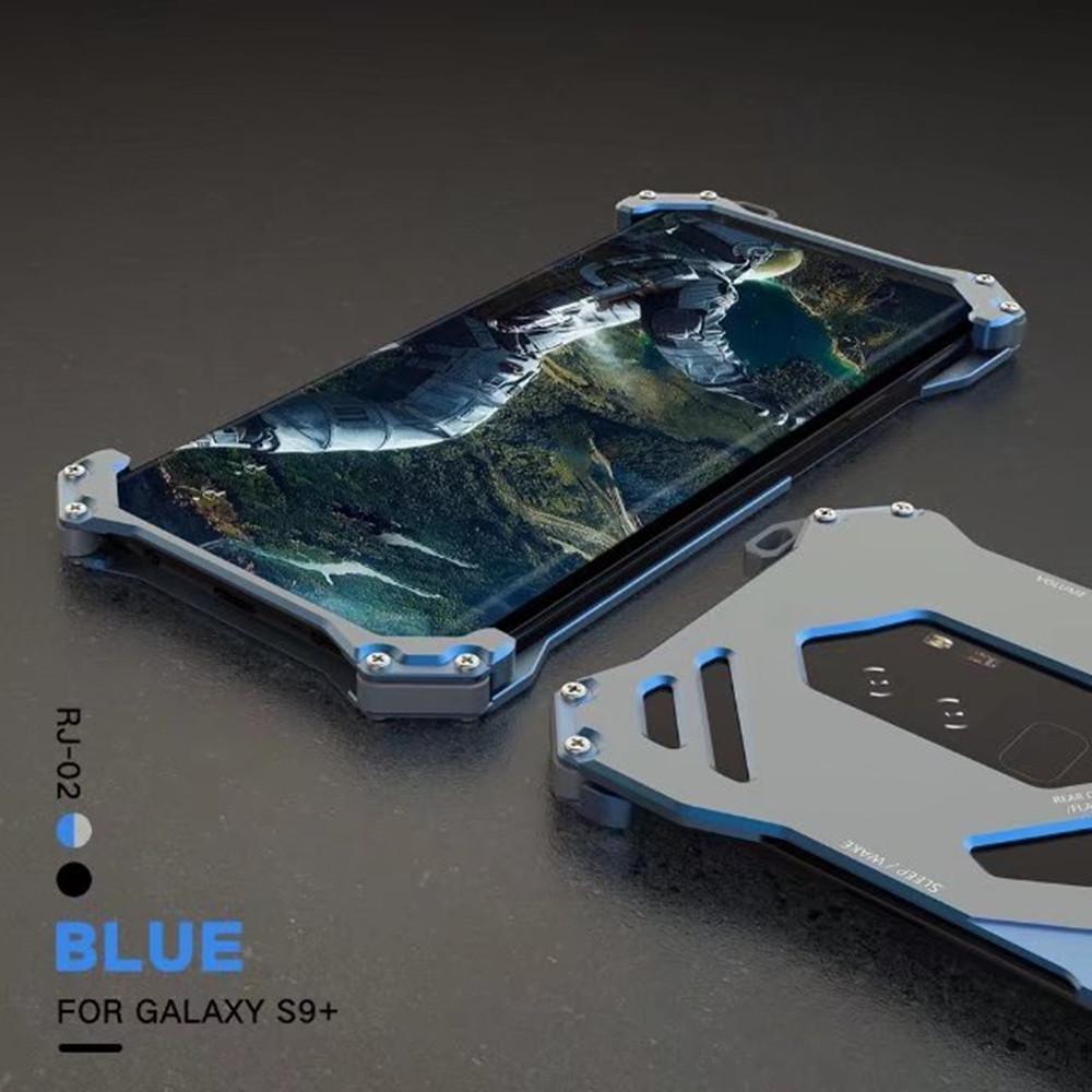galaxy S9 耐衝撃 アルミバンパー