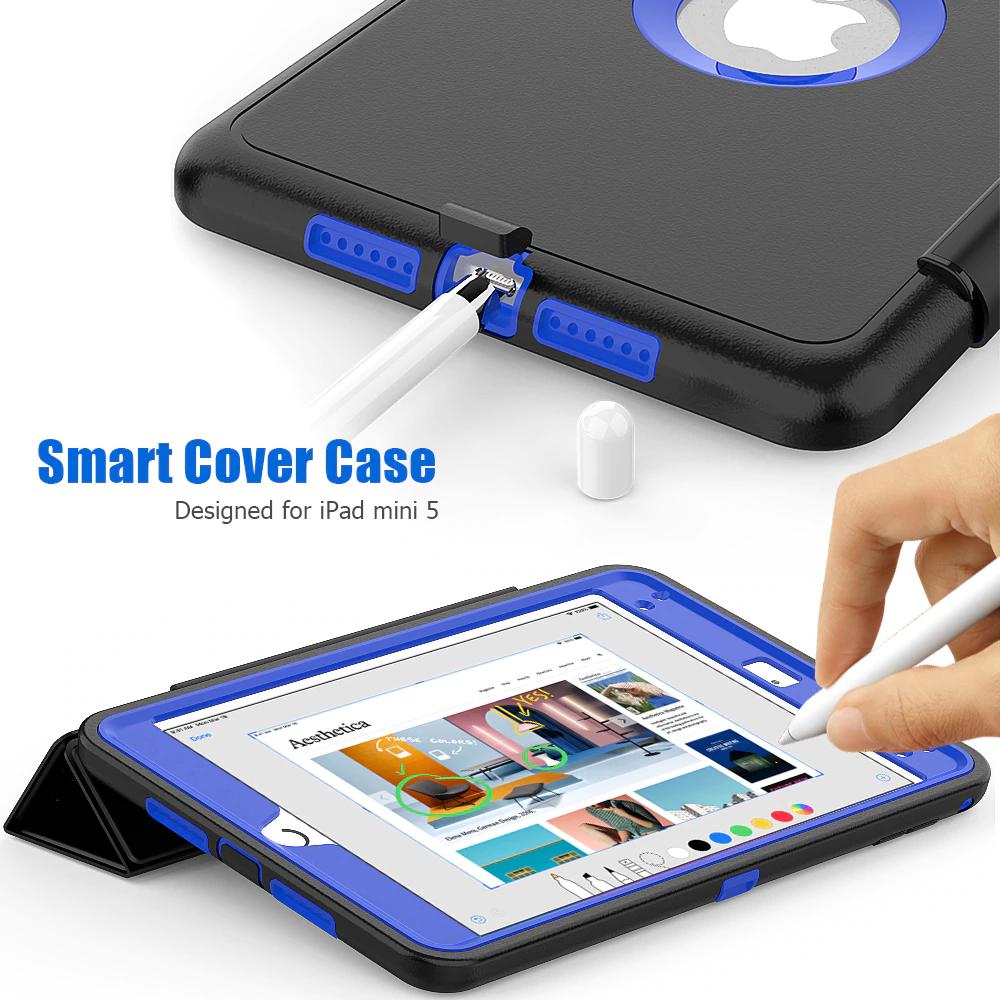 iPad mini 5 ケース 2重構造