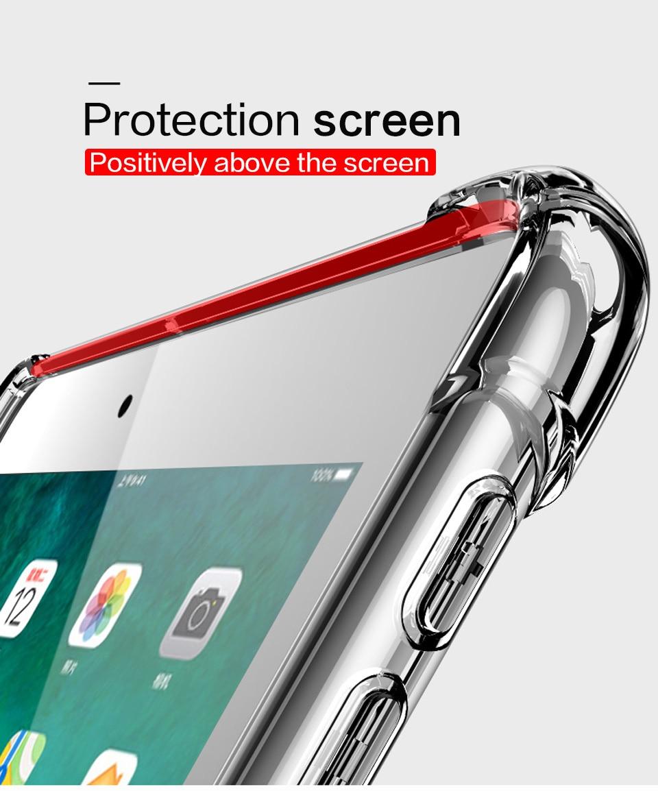 iPad mini5 クリア タフケース