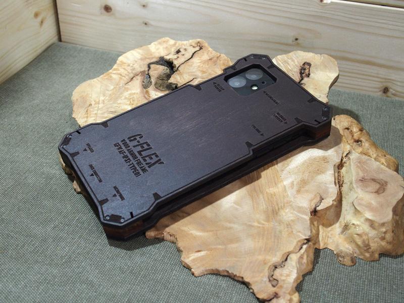 iPhone11 ウッドケース ハンドメイド