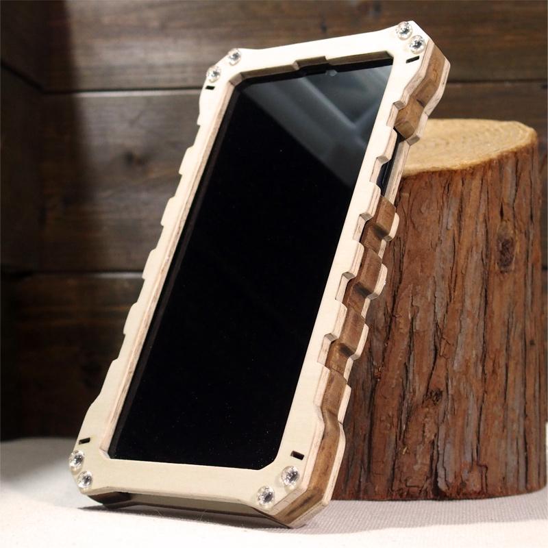 iPhone11 木製ケース