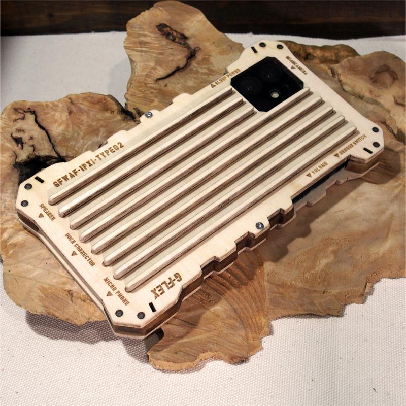 iPhone11 ウッドケース オリジナル