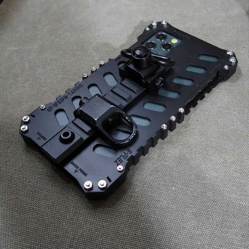 iPhone11 pro max レイルマウント付きケース