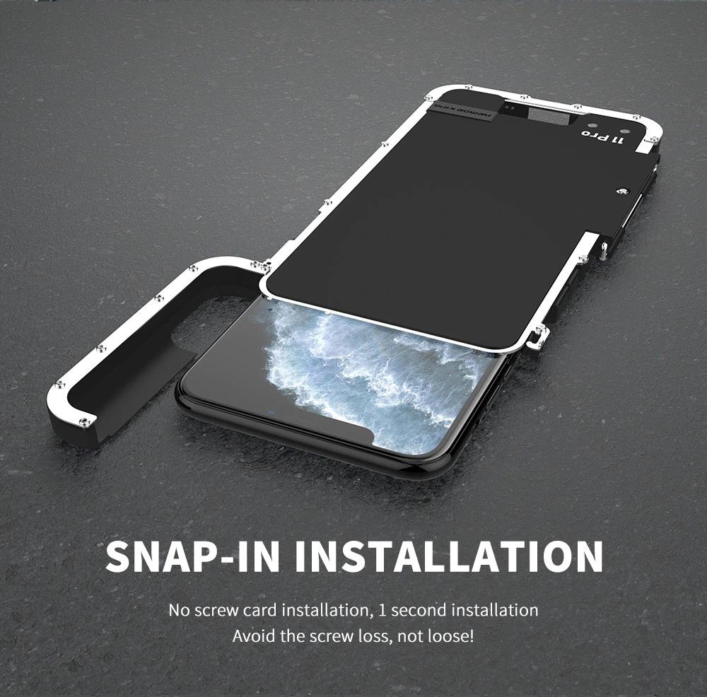 iPhone 11 pro max アイアンケース