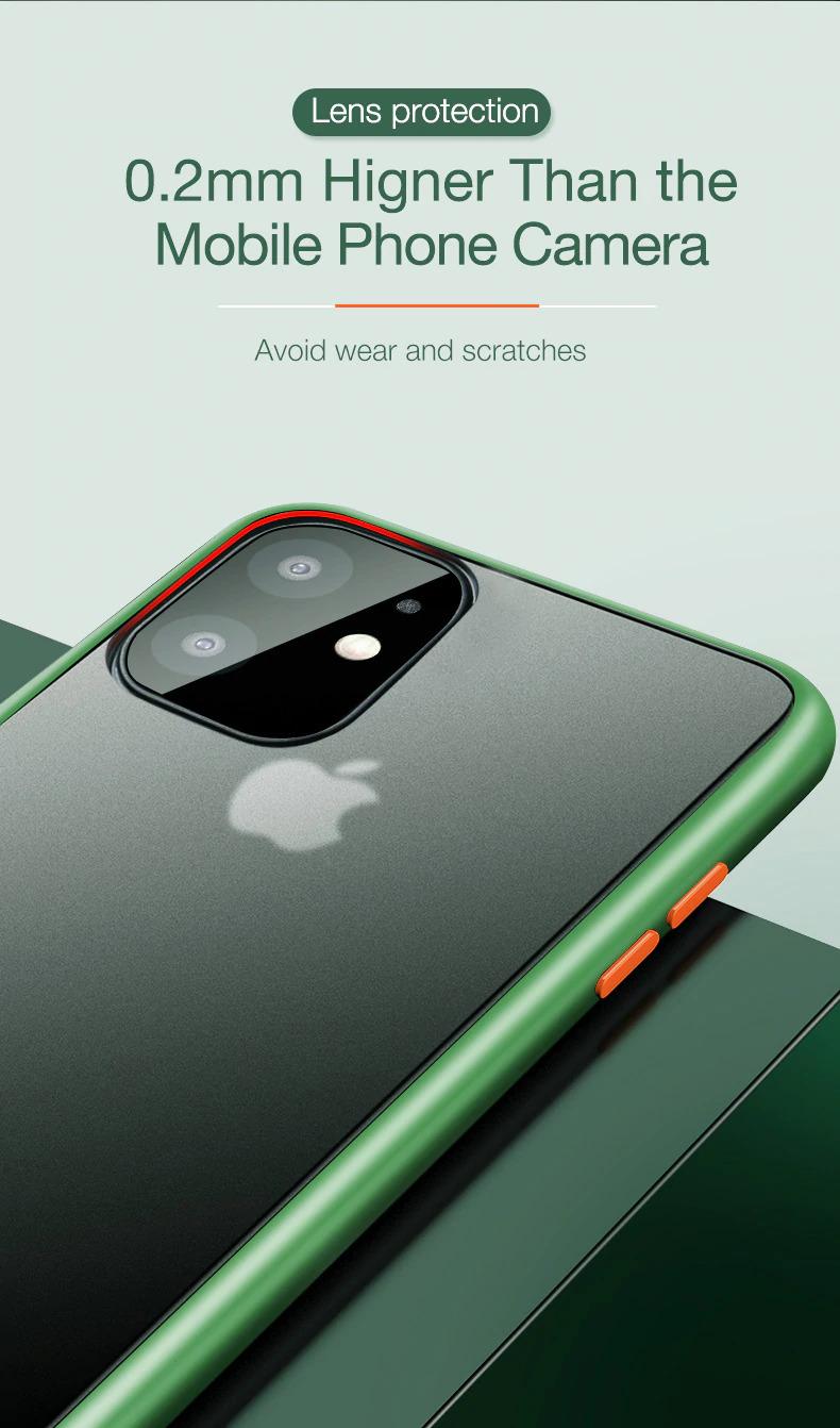 iPhone 11 クリア ケース 耐衝撃