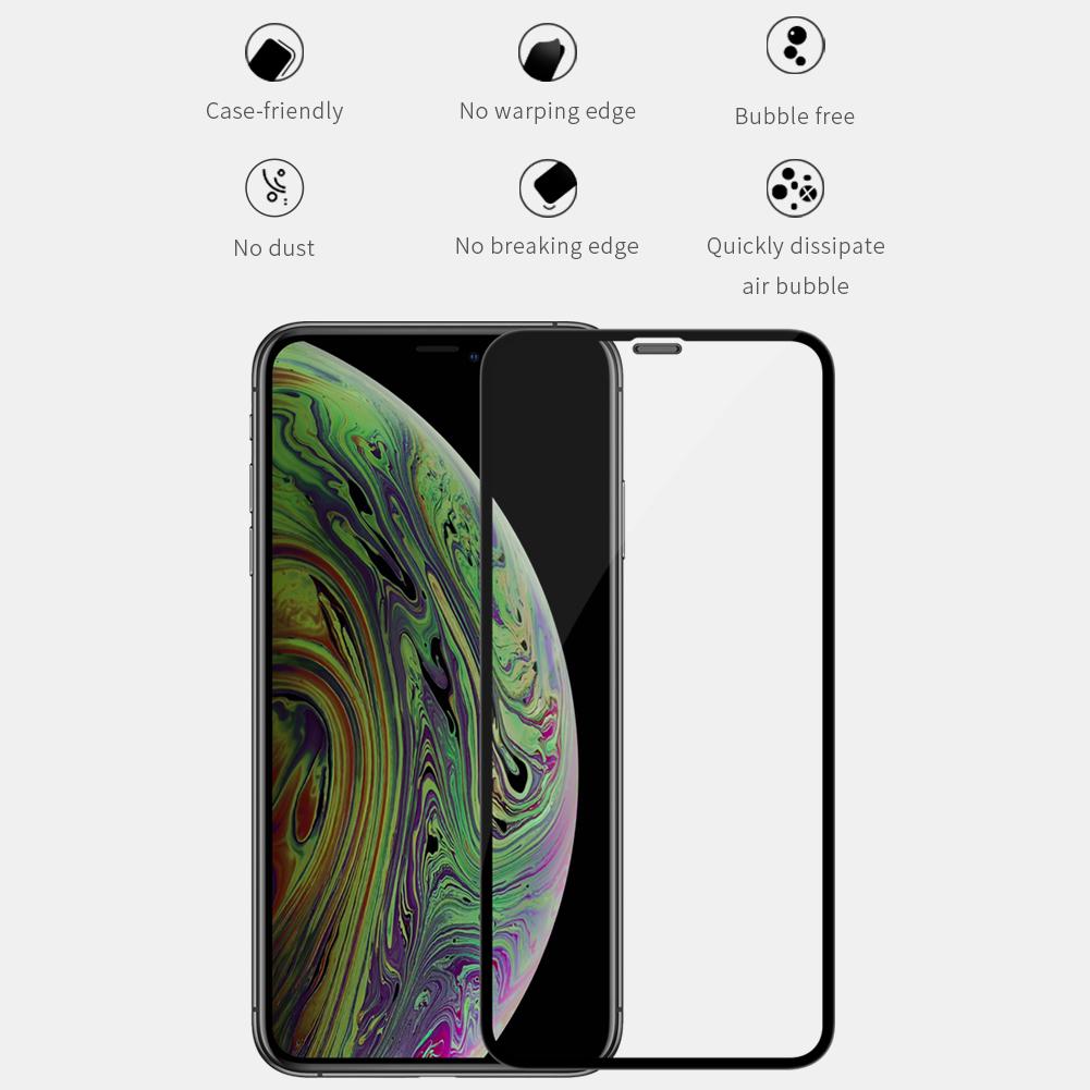 アイフォン11 プロ 強化ガラス フルカバー