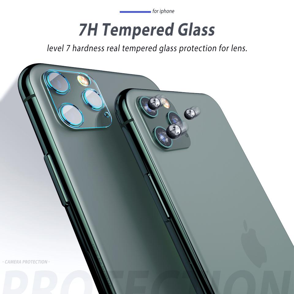 iPhone11 カメラレンズ 強化ガラス