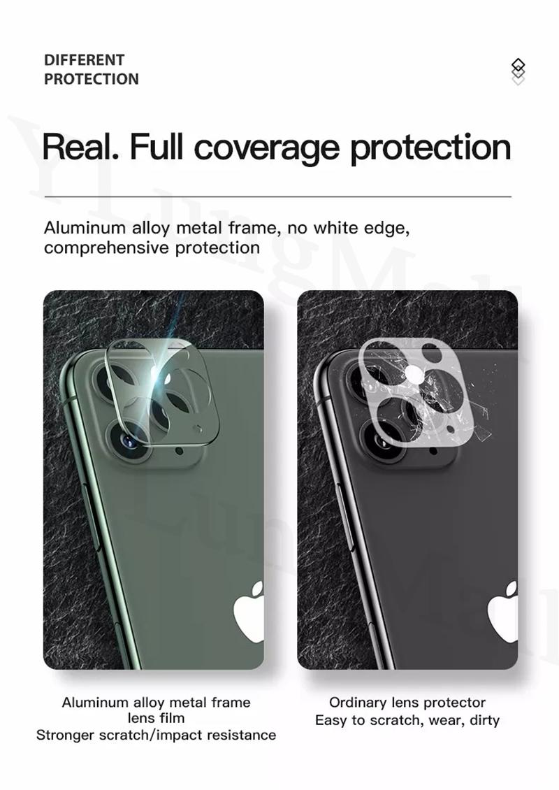 iPhone 11 pro Max カメラレンズ リング