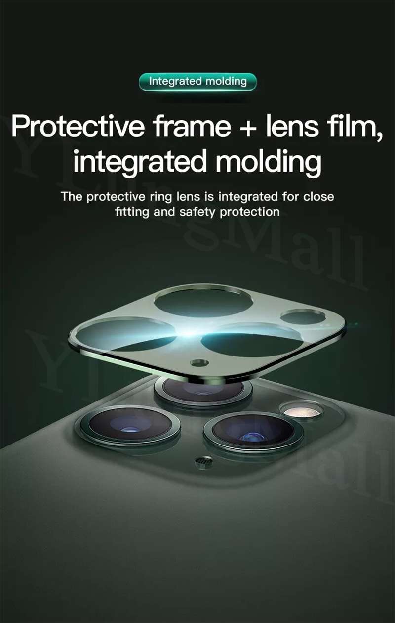 iPhone 11 pro Max カメラレンズ アルミフレーム