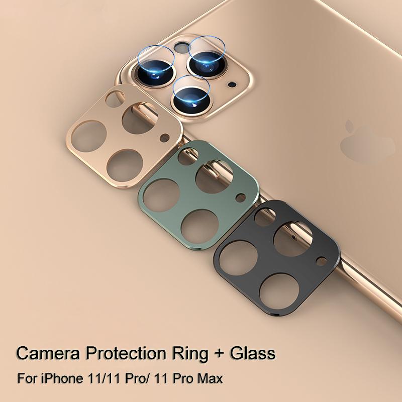 iPhone 11 pro カメラレンズ 強化ガラス