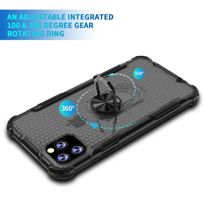 iPhone 11 pro Max 耐衝撃 クリアケース