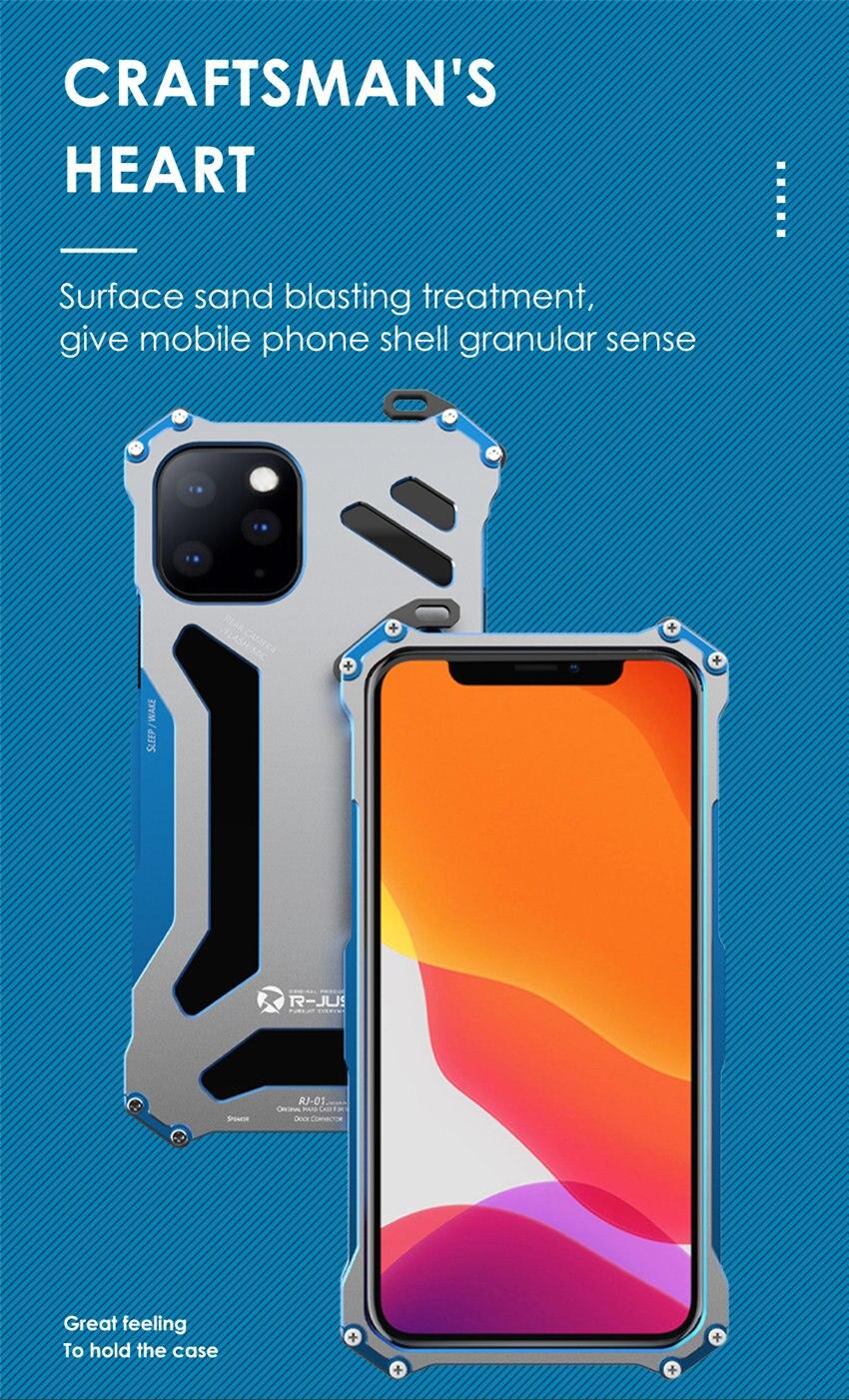iPhone 11 pro アルミバンパー
