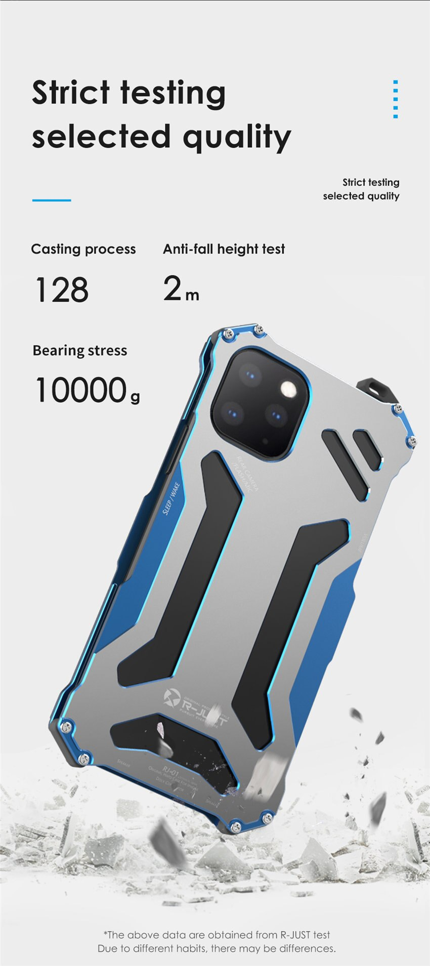 iPhone11 pro メタル 耐衝撃