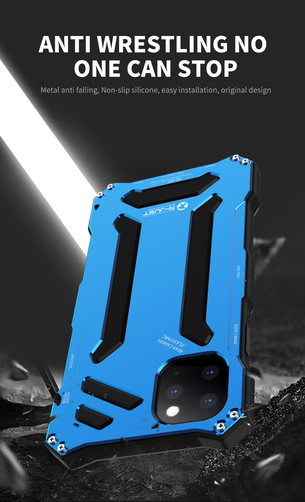 iPhone 11 pro Max メタル 耐衝撃