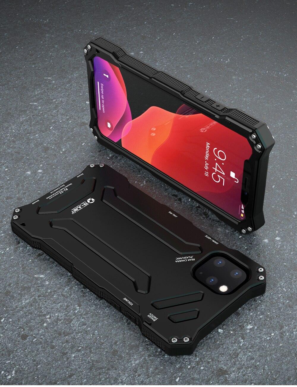 iPhone 11 pro Max アルミ 耐衝撃