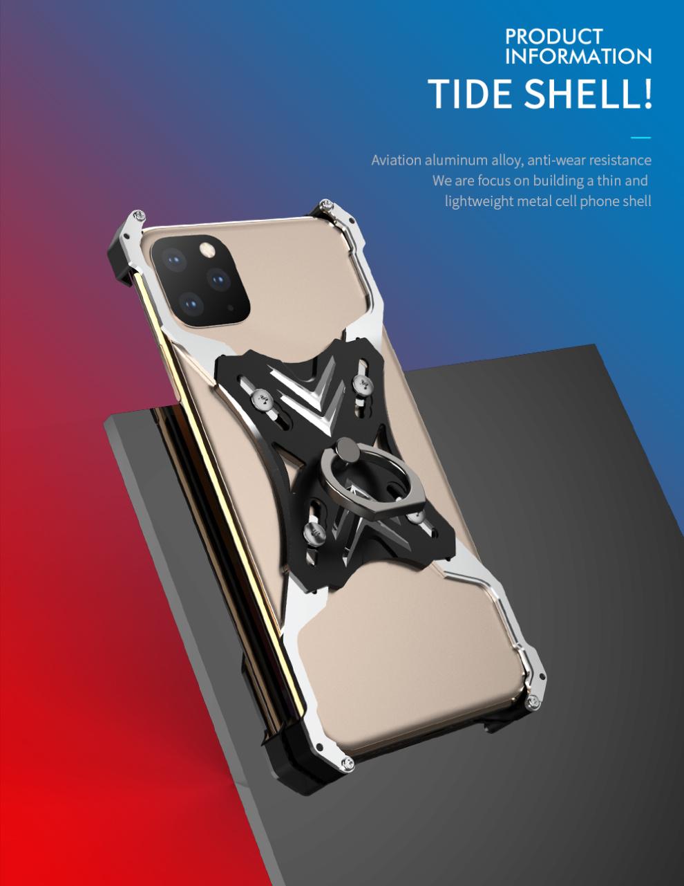 iphone 11メタルフルカバー