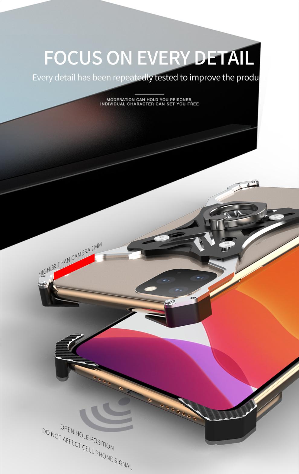 iphone11 アルミバンパー