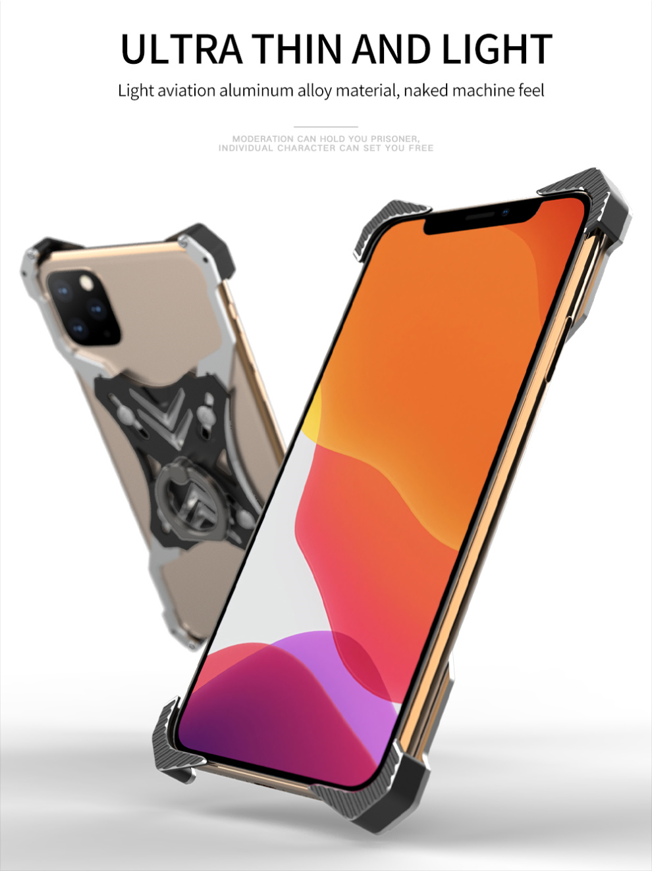 iPhone 11 pro Max アルミバンパーケース