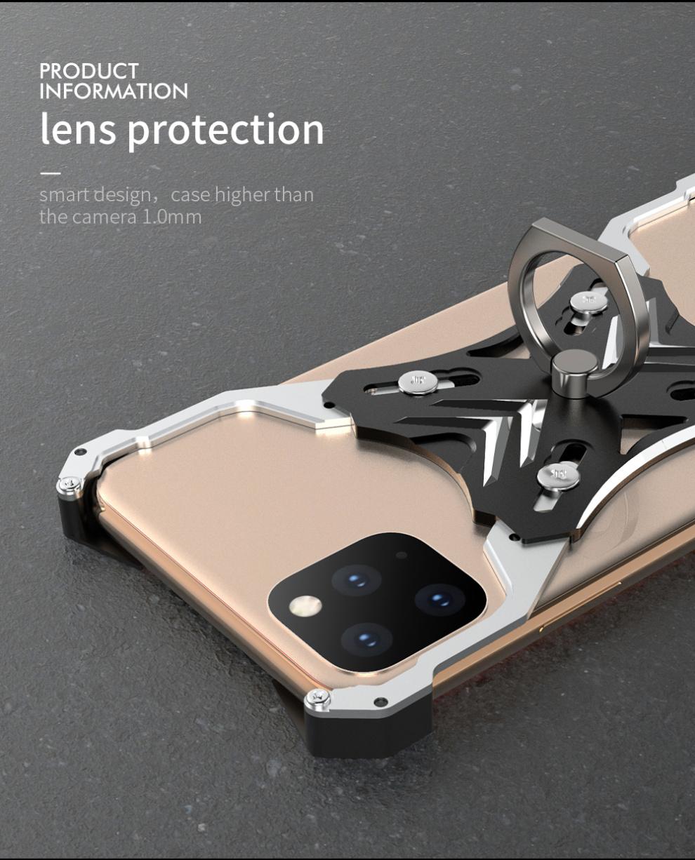iPhone 11 pro Max アルミ レーシングケース