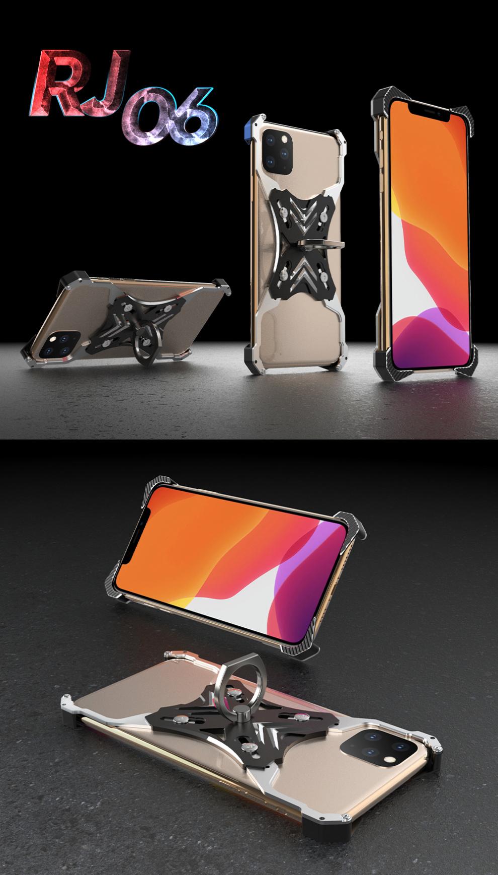 iphone11 アルミ レーシングケース