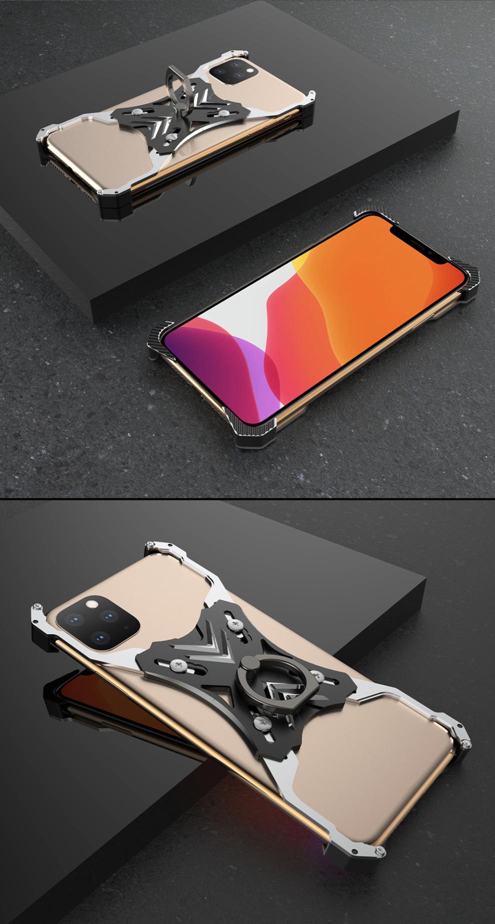 iPhone 11 pro Max アルミケース