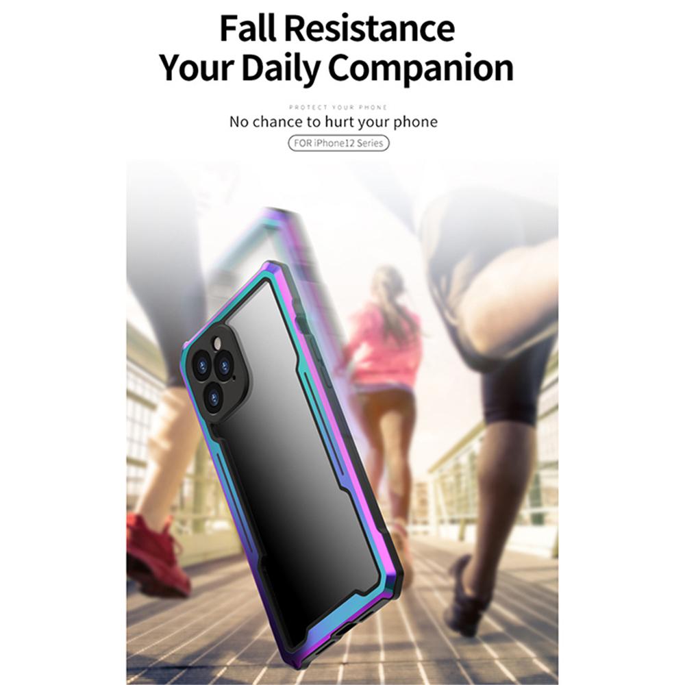 iPhone 12 クリア 耐衝撃