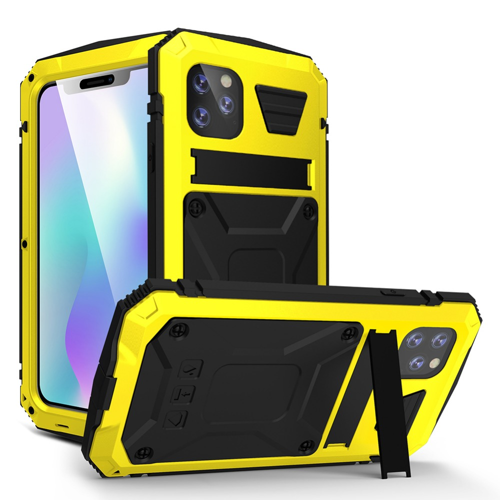 iPhone12 メタルフルカバー