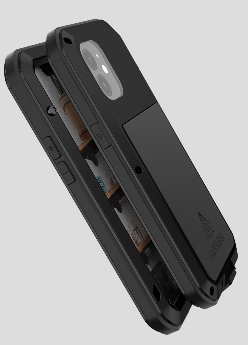 iPhone12 強化ガラス フルカバー