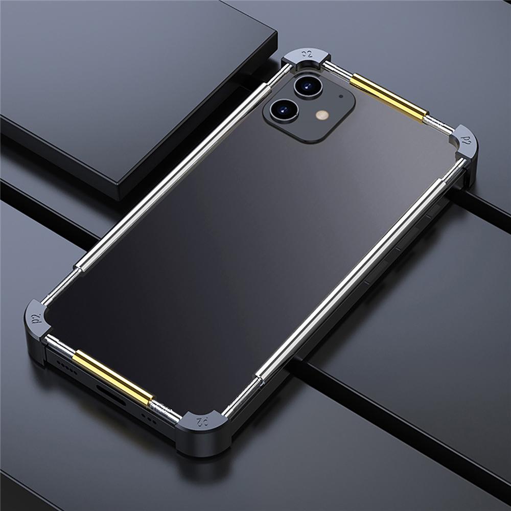 iPhone 12 mini アルミバンパー 耐衝撃