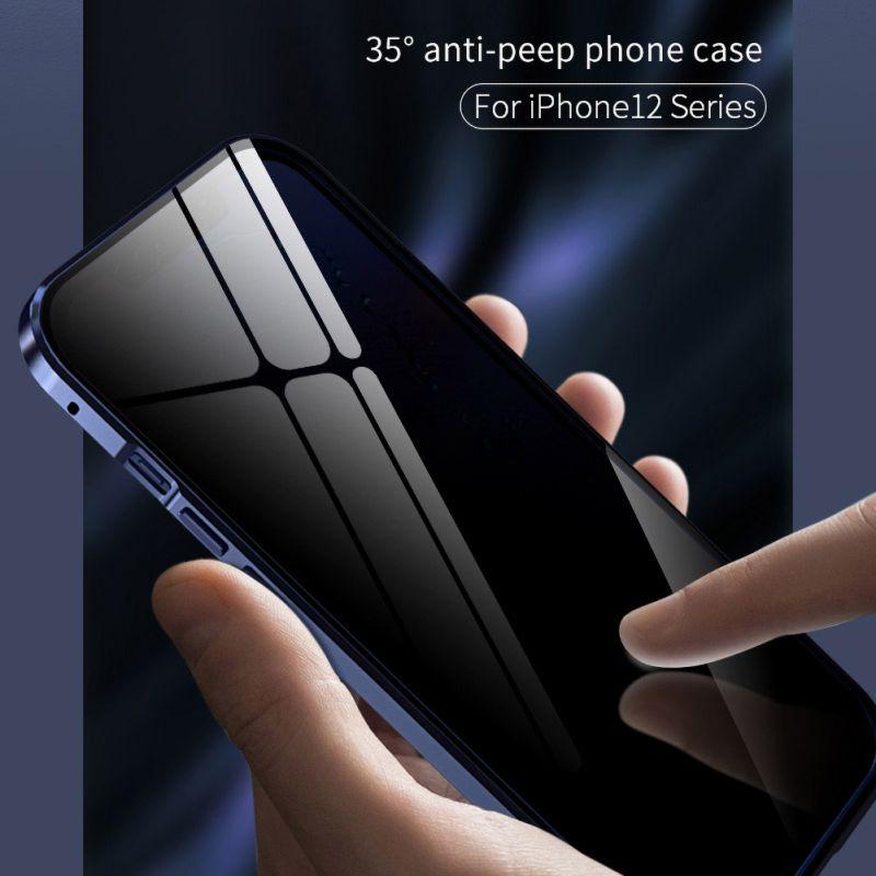iPhone12 アルミバンパーケース