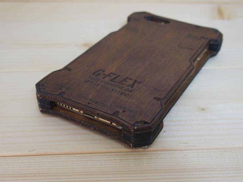アイフォン6s ウッドケース