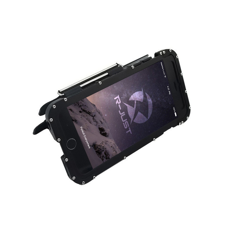 iphone6s plus 耐衝撃ケース ステンレス