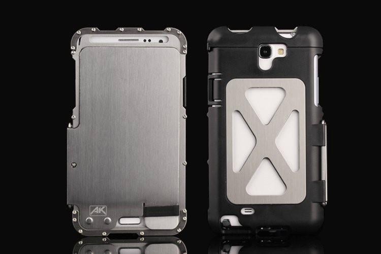 iphone6s 耐衝撃ケース カバー付き メタルケース