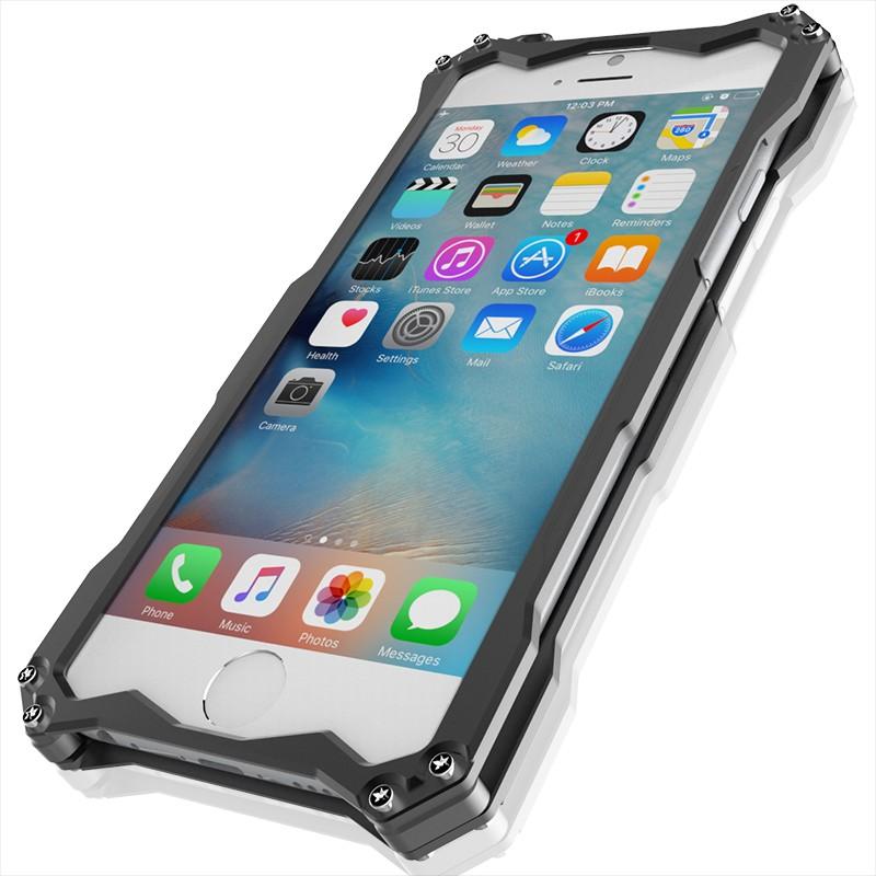 iphoneSE アルミバンパーケース