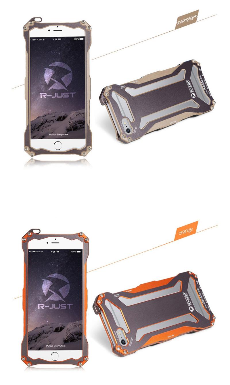 iphone6 アルミバンパー ゴールド