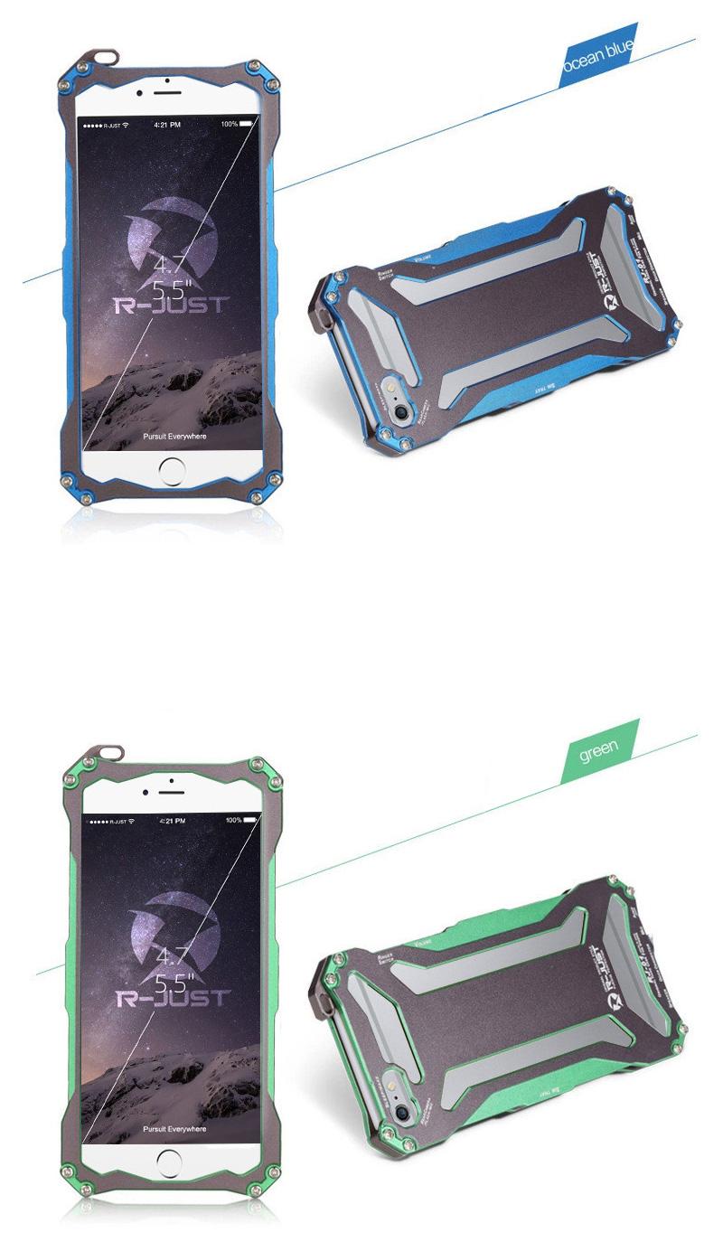 iphone6 アルミバンパー ブルメタ