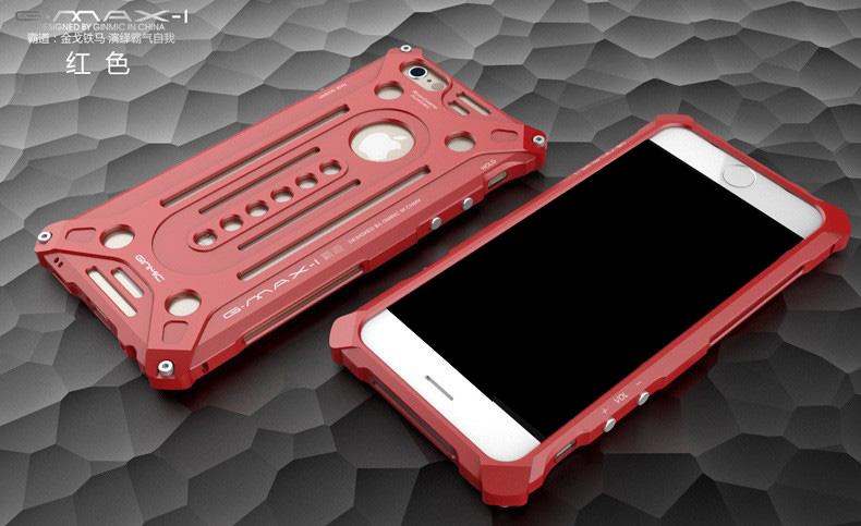 iphone6s plus アルミフルカバー