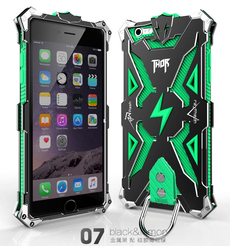 アイフォン6 plus 金属 タフケース