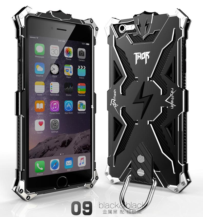 アイフォン6 plus メタル タフケース