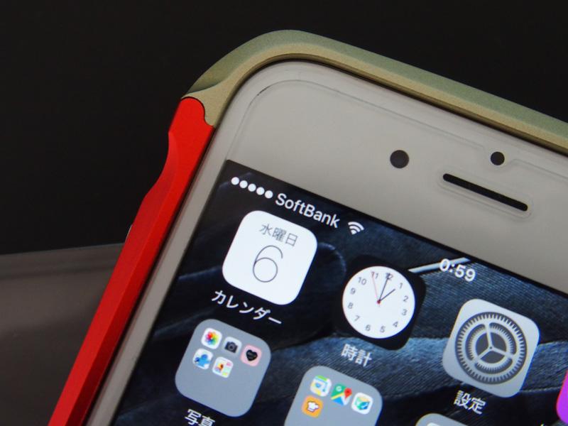 iphone6s アルミ 電波干渉しない