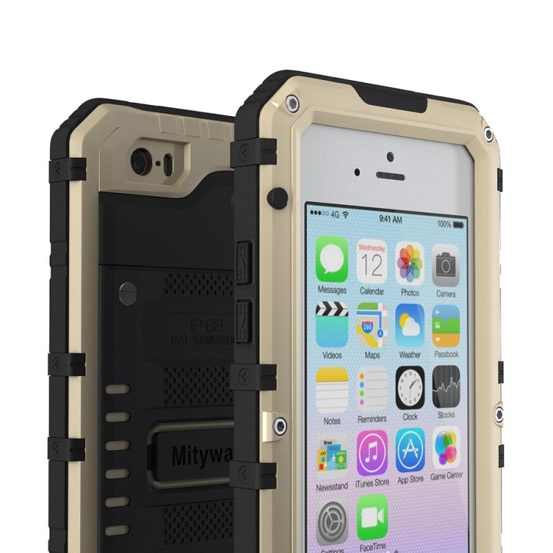 アイフォン6s 防水 メタルケース