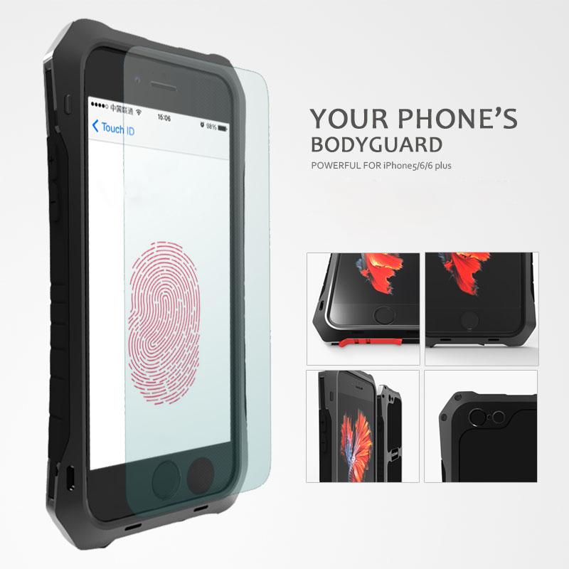 iphone6 plus アルミ タフケース