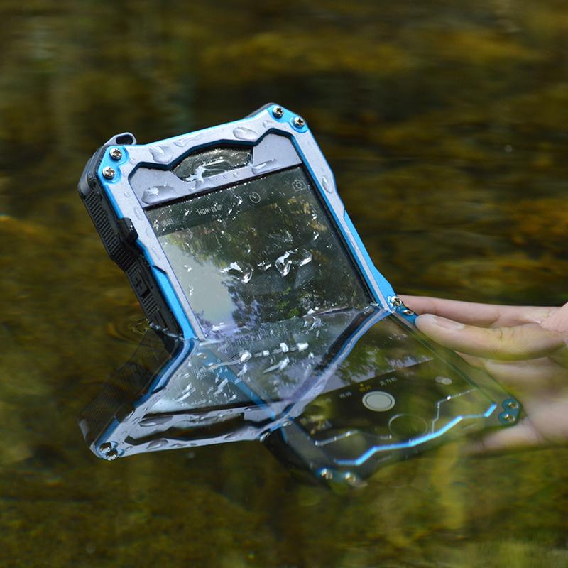 iphone6 plus 防水メタルケース