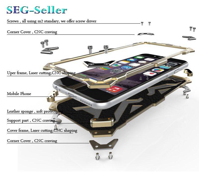 iphone6s アルミバンパーケース