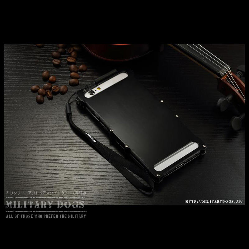iphone6s 耐衝撃ケース メタルケース